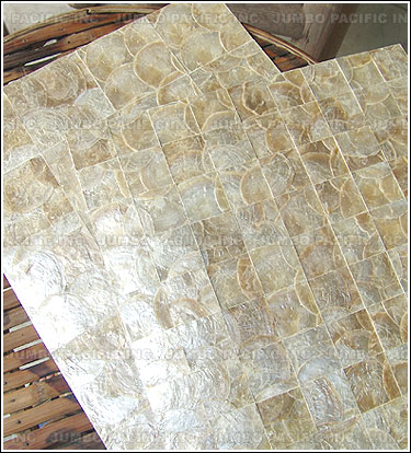 Jumbo Pacific Inc Has A Collection Of Capiz Mother Pearl Shell Tiles And Wall Panels To Choose From Our Tile Panel